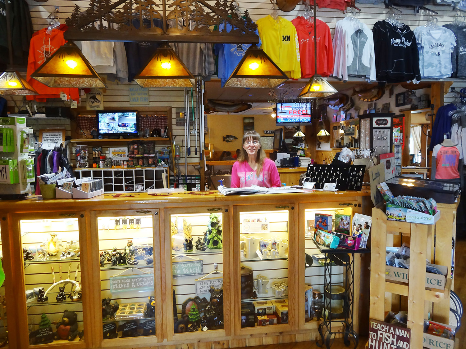 northwoods gift shop stony point resort family resort